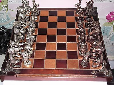 Graeme Anthony Vintage Chess Set, WIZARD OF ID, Retired Set from late 80's-90's