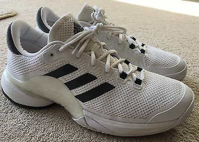 Adidas Barricade 2017 Mens Tennis Shoes UK9.5 / EUR44