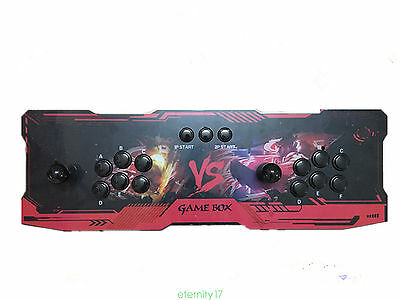 Pandora Box 4s Multiplayer Arcade Games Console 800in1 PCB KoF Street Fighter