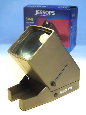 Jessops SV-8 Battery Operated Slide Viewer in Original Box VGC (WH_0704)
