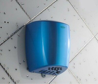 New Blue Stainless Steel Wall Mounted Automatic Induction Hand Dryer Machine