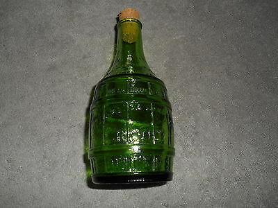 Wheaton -- 7 1/2''  Green Dr. Chandlers Root Bitters Bottle