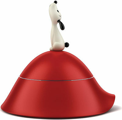 Alessi Lula dog bowl, Red, AMMI19 R, Brand new, RRP £53.00