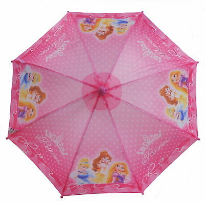 Disney Prinzessin Pink Crown Girl's Regenschirm