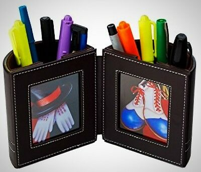 Desk Organizer , Pen and Pencil Holder with Picture Frame By Pensali Office