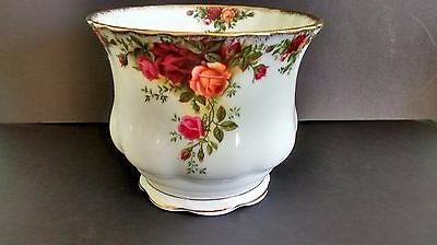 Royal Albert Old Country Roses Plant Pot Holder 13cm 1st Quality