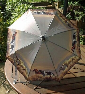 Childrens Umbrella Parasol 57 cm Horse Mustang pony Waterproof New