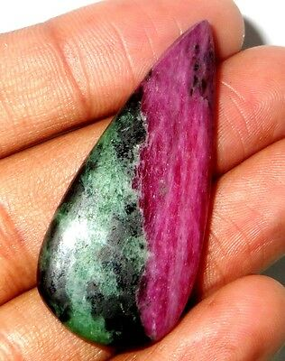 48 Cts. 100% Natural Ruby Zoisite Top Quality A+++ Cabochon Gemstone 828