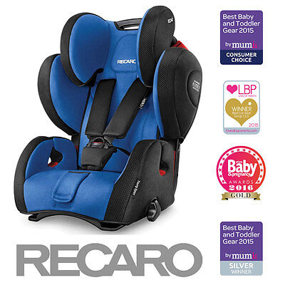 Recaro Young Sport HERO Group 123 Car Seat - Saphir (9m-12yrs / 9-36kg)