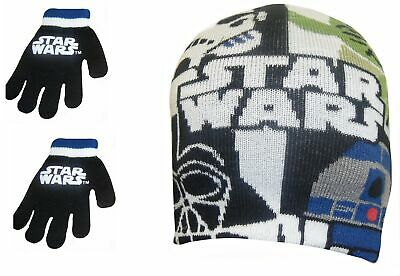 Star Wars Children's Hat and Gloves Set