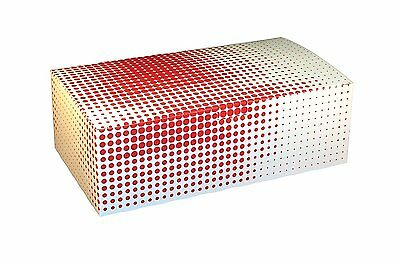 """Specialty Quality Packaging 3505 Tuck Top Box, Motion, 9"""" x 5"""" x 3"""" Pack of 250"""
