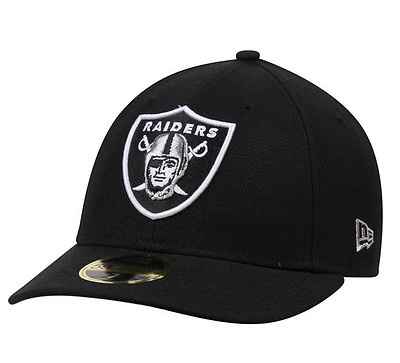 New Era Nba 59Fifty Fitted Low Profile Oakland Raiders