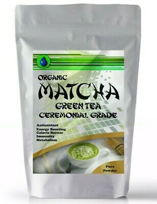 Organic Matcha Green Tea Powder for Drinking | Face & Hair Masks, Slimming Detox