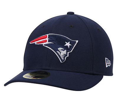 New Era Nba 59Fifty Fitted Low Profile New England Patriots