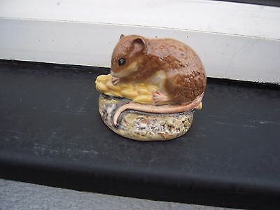 Beswick Door Mouse Figurine 3 inches long. Lovely Piece. Vintage.