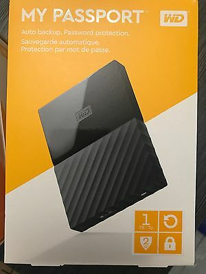 WD 1TB External USB3.0 Portable Hard Drive Best Price! VERY FAST! 2Year Warranty