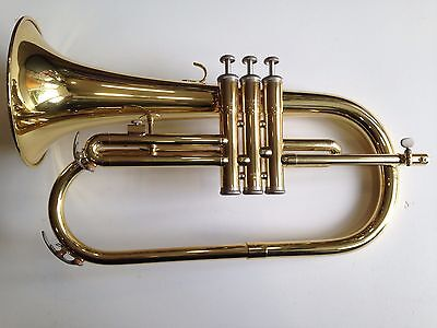 Yamaha YFH2310 Flugel Horn, Gold Lacquer supplied with hard case