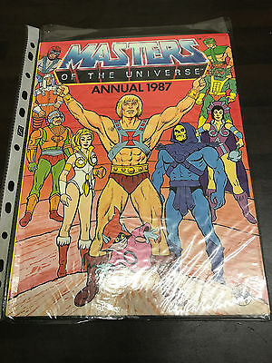 Masters of the Universe 1987 Annual Unclipped