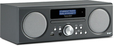 Technisat 350 Cd Radio Digitale (Dab +, Dab, Pll-Ukw Tuner, Cd/mp3 Player, Usb)