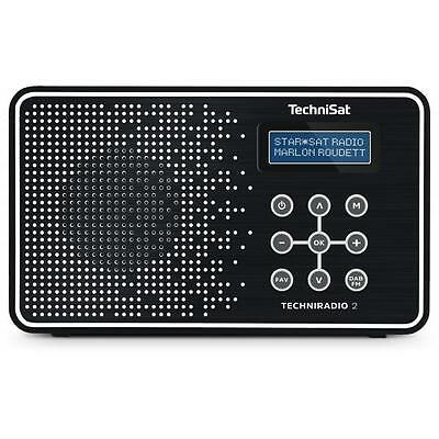 Technisat Techniradio 2 Radio Digitale Bianco/nero -  0001/4965