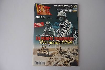 Vae Victis  31   En Pointe Toujours! Normandie 1944  Strategy Game/  Magazine