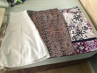 Women's Skirt Bundle Size 12 M&s And Next