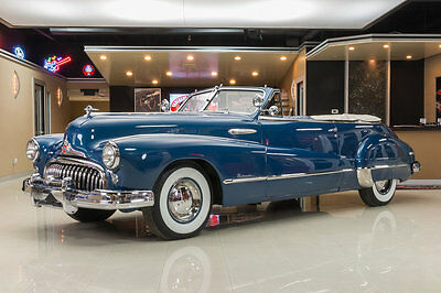 1948 Buick Roadmaster  Time Capsule! 320ci Straight 8, Three On-the-Tree, Pwr Top, Pwr Window, Pwr Seat