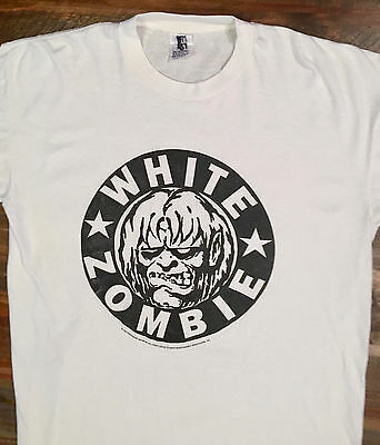 Vintage And Rare White Zombie Concert Shirt - 1996