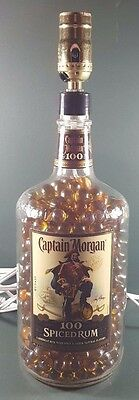Bottle Table Lamp CAPTAIN MORGAN SPICED RUM (no alcohol included)