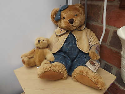 "Russ Vintage Collection""lady Quinn"" Bear +Baby+Authenticity Certificate"