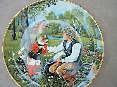 Kaiser Classic Fairy Tales Plaque. Puss in Boots.