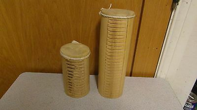 Pair of Bamboo Drums with Rasp Sides