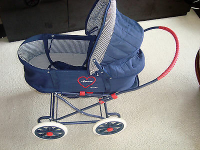 AMORE YOU AND ME Doll Pram-Buggy-Stroller w/Bassinet