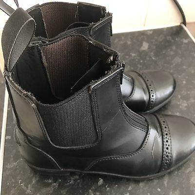 horse riding boots Size 3