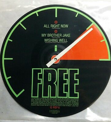 "Free - All Right Now - 12"" Picture Disc Vinyl"
