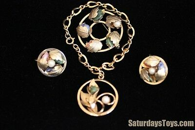 1965 Annette Funicello JEWELRY Walt Disney Monkey's Uncle Sarah Coventry 4pc SET