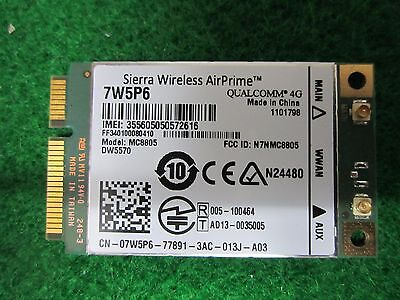 Genuine DELL DW5570 7W5P6 MC8805  Sierra 4G HSPA+ WWAN Broadband Mobile Card