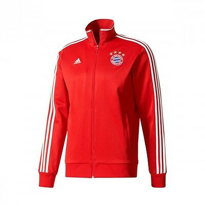 VESTE ADIDAS FC Bayern Munich 3S Top 2017 2018 True red