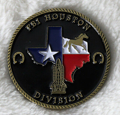 Department Of Justice FBI Houston Division Challenge Coin