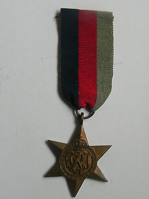Wwii The Burma Star Bravery Military Medal British Army In India George Vi