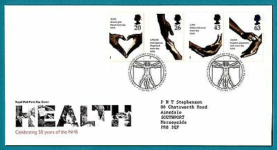 GB 1998 Royal Mail First Day Cover Health CDS Tredegar