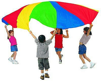 Pacific Play Tents Kids 45 Foot Enormous Parachute with Carry Bag, No Handles