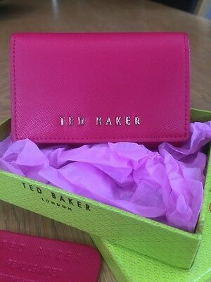 Genuine Ted Baker Leather Purse -brand New With Box But No Tags.