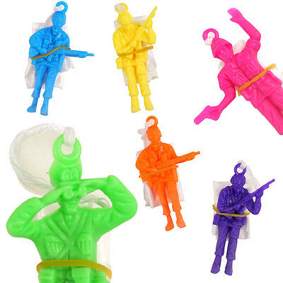 1 6 12 24 Parachute Army Men Soldiers Toy Boys Girls Birthday Party Bag Fillers