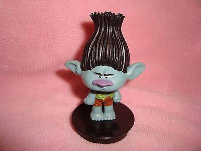 Trolls Branch PVC Figure Snapco Movie Cup topper 3""