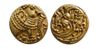 PCW-I1538-INDIA. Gangas of Talakad. Anonymous. 1100-1327 AD. Gold Pagoda.