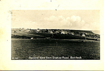 ANGLESEY  - Postcard of Benllech from Station Road, Posted locally 1910
