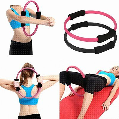 Pilates Ring Magic Circle Dual Grip Sporting Goods Yoga Ring Exercise Fitness SW