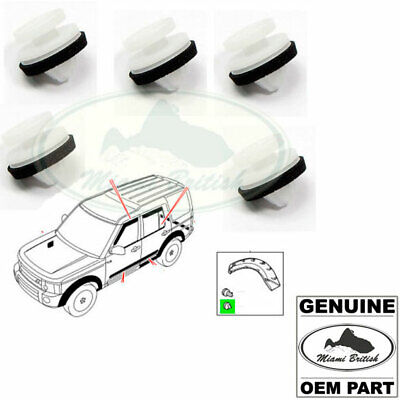8Pcs New Front Wheel Arch Mouding Clips Fits 2005-2013 Land Rover LR3  LR4