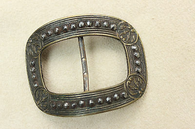 Antique Vintage Victorian Metal BUCKLE FRAME